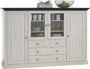 sideboard wei sortiert nach breite 50 cm 250 cm. Black Bedroom Furniture Sets. Home Design Ideas