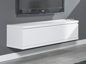 Hängeschrank Sideboard Weiß Lack matt ♥ Sideboard Wandhängend ♥ MDF Weiß matt lackiert