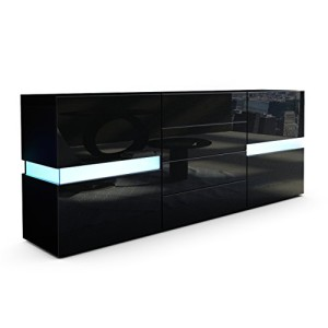 sideboard schwarz 99 sideboards deine gro e auswahl hier. Black Bedroom Furniture Sets. Home Design Ideas